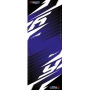 Tapis de sol Yamaha Racing Bleu