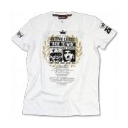 T-shirt homme blanc