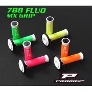Poignèes PG-788 bi couleur fluo