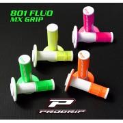 Poignèes PG-801 bi couleur fluo