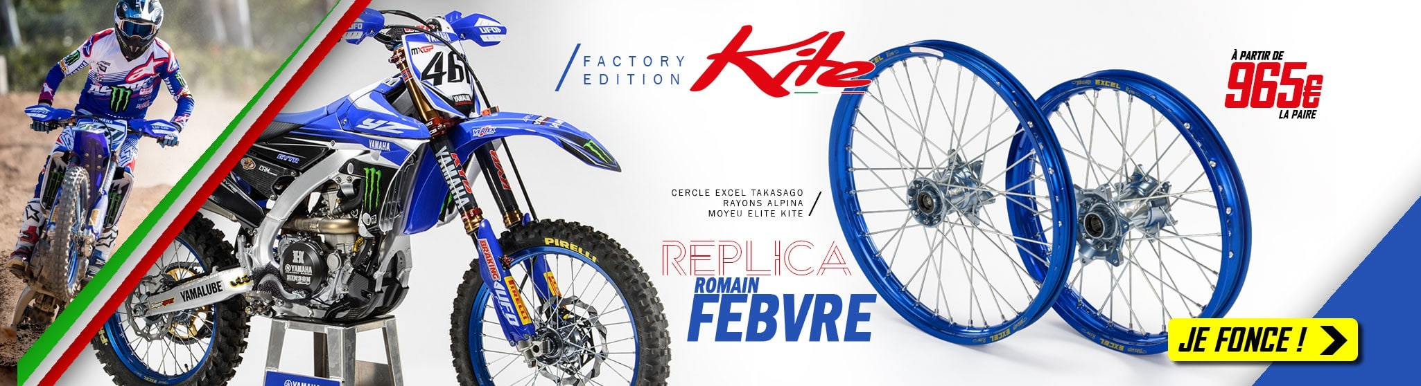 Roues Kite Rinaldi Factory Edition