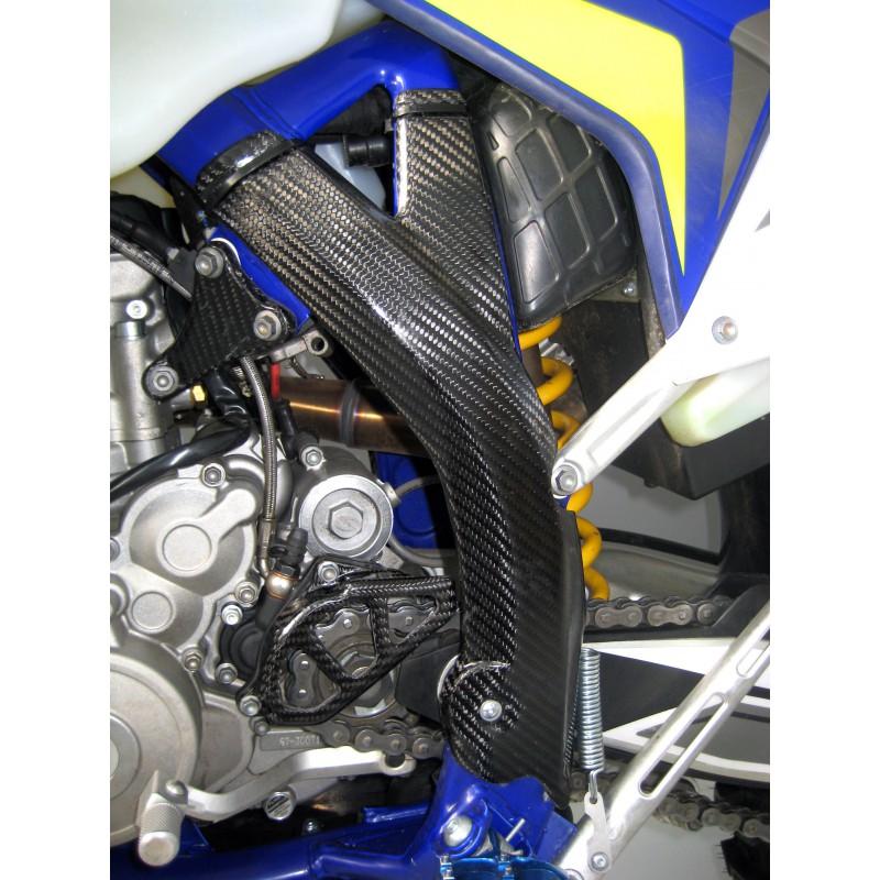 Motodak Protection de Cadre polisport Bleu sherco