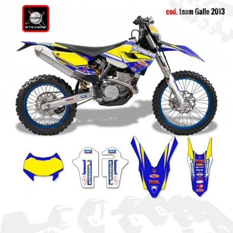 Kit TEAM GALLO 2013