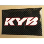 STICKERS FOURCHE CARB KYB BLA
