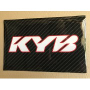 STICKERS FOURCHE CARB KYB BLA