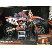MAQUETTE KTM SXF HERLINGS CHAMP
