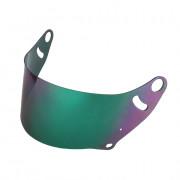 visière iridium Arai CK6 vert