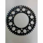 Couronne ergal Ktm 50 dents noir
